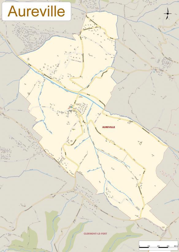 Plan d'Aureville